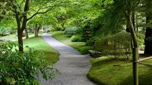 Path - Nitobe Garden UBC Vancouver